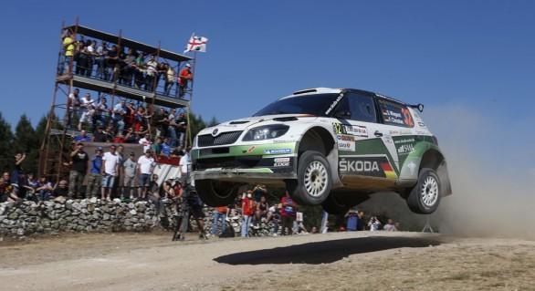Skoda bei der Rallye Sardinien <br /> Ein aufregender Leichtsinn