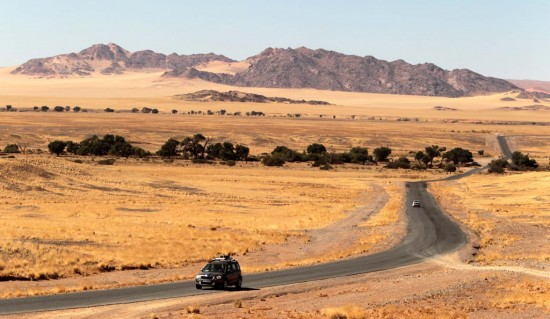 Skoda in Namibia <br />Yetis in der Wüste