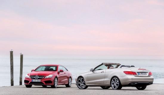 Mercedes E Cabrio und Coupé <br />E steht für Entspannung