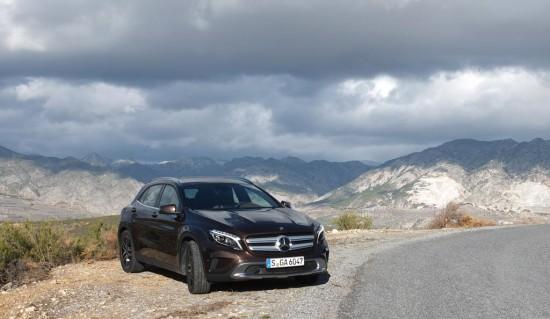 Mercedes GLA <br />Erste Fahrt im Premium-SUV